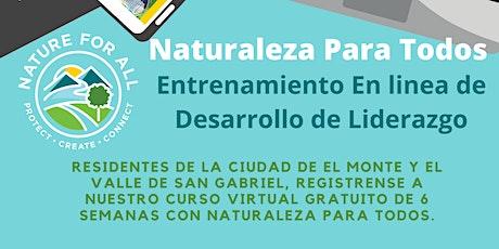 Entrenamiento Virtual de Desarrollo de Liderazgo tickets