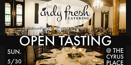 Indy Fresh  Catering Open Tasting tickets