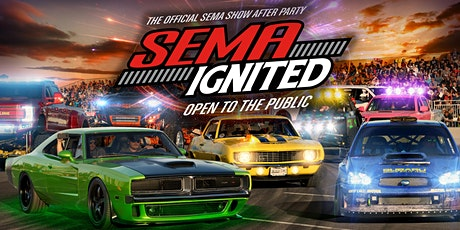 2020 SEMA Ignited - Las Vegas Convention Center - Platinum Lot - General Admission tickets