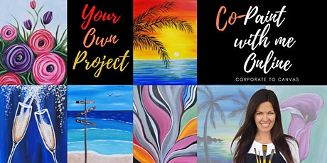 Paint With Me Online:  Co-Painting and Socializing 5/31 tickets