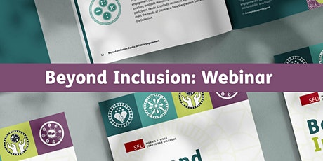 Beyond Inclusion:  Equity in Public Engagement Online Webinar tickets