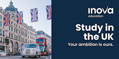 Exclusivo para Sudamérica: Estudia en el Reino Unido en enero 2021 (sesión en línea) boletos