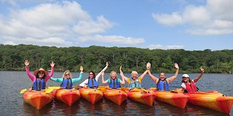 Ladies Canoe & Kayak Weekend at Corman AMC Harriman Outdoor Center tickets