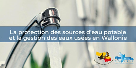 Protection des sources d'eau potable et gestion des eaux usées Wallonie billets