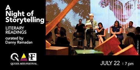 A Night of Storytelling @ QAF 2020 tickets