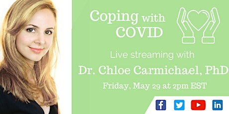 Dr. Chloe LIVE: Coping with COVID tickets