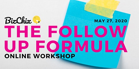 The Follow-Up Formula (Online Workshop and Recording) tickets