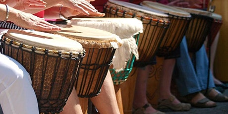 FREE Drumming and Mindfulness - Zoom Class tickets