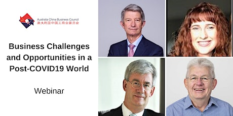 Post-COVID opportunities and challenges for Tasmanian exporters doing business with China tickets