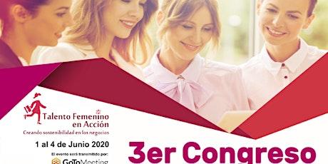 3er Congreso Talento Femenino en Acción 2020 entradas