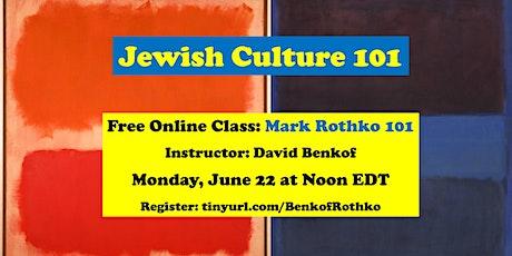 Mark Rothko 101 tickets