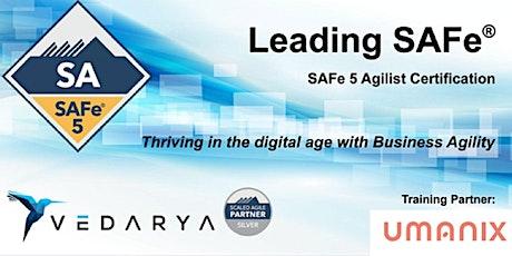 ONLINE - Leading SAFe-Certified SAFe Agilist 5.0(ESPAÑOL)-10 & 11 Julio entradas