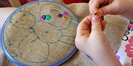 Embroidery Techniques (3 August - 7 August) tickets