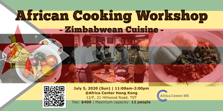 African Cooking Workshop - Zimbabwean Cuisine - tickets