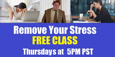 FREE YOUR TIGHT UPPER BODY AND LET GO OF YOUR STRESS tickets
