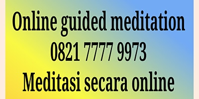 Finding How to Live Truly @Tangerang Meditation