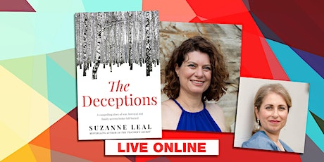 The Author Talks:  Suzanne Leal with Claudine Tinellis Live Online tickets