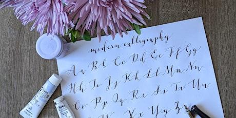 Modern Calligraphy Workshop Eventbrite Tickets tickets