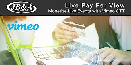 Live Webinar: Monetize Virtual Events with Live PPV tickets