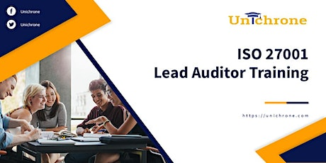 ISO 27001 Lead Auditor Training in Ipoh Malaysia tickets