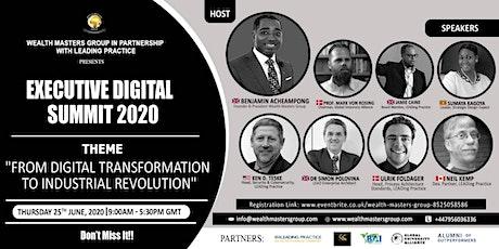 Digital Executive Summit 2020 tickets