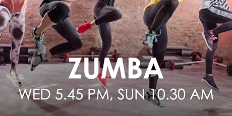 Evening Zumba (Wed 5.45 PM) tickets