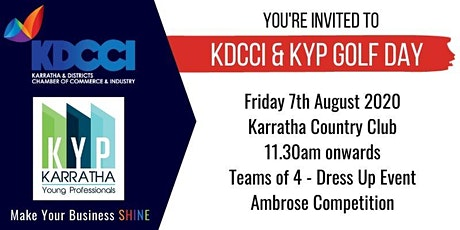 KDCCI & KYP Corporate Golf Day tickets