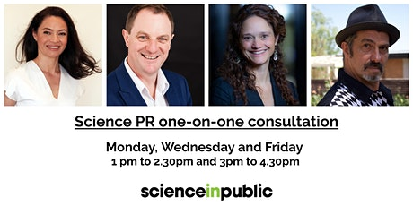 Science PR one-on-one consultation (90min) entradas
