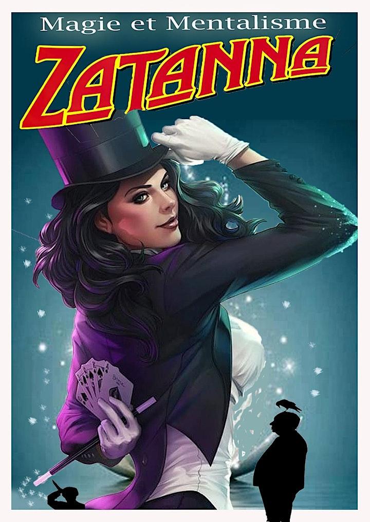 Image pour ZATANNA :  Magie et Mentalisme !