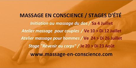 """Soirée conviviale """"Porte ouverte"""" / Massage En Conscience billets"""