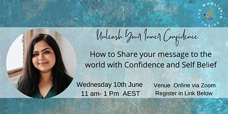 Unleash your inner confidence tickets