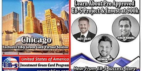 Chicago EB-5 Green Card Virtual  Market Series-  Meet the Expert & Success Story (ONLINE EVENT) tickets