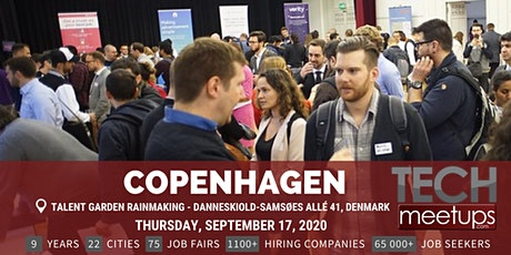 Copenhagen Tech Job Fair Autumn 2020 By Techmeetups tickets