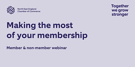 Making the most of your Chamber membership tickets