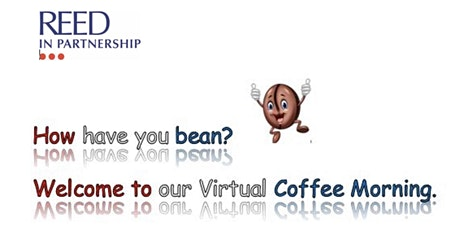 Virtual Coffee Morning with Reed in Partnership Croydon tickets