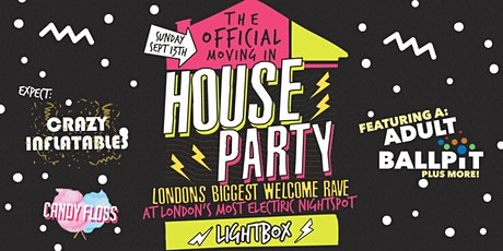 The Official London Freshers Moving In House Party - Sold Out Every Year! tickets
