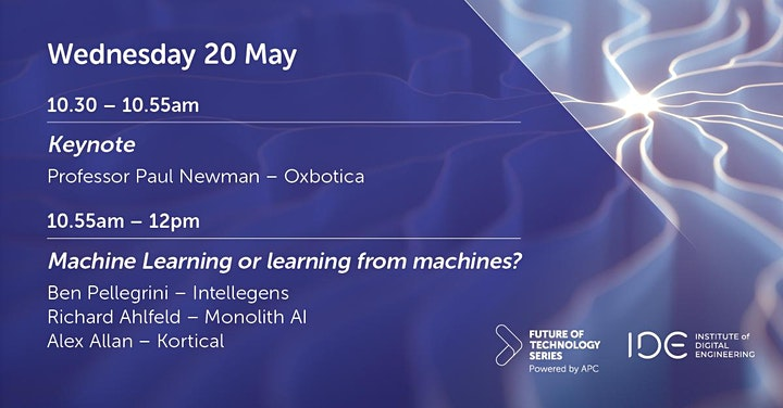 FoT webinar - Machine learning or learning from machines? image