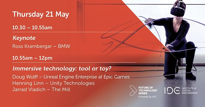 FoT webinar - Immersive technology: tool or toy? image