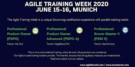 Agile Trainingweek Munich | 2 Days Certified Trainings (June 15-16) tickets