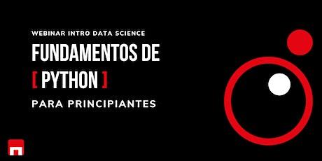 Python Fundamentals aplicado a Data Science boletos