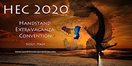 Handstand Extravaganza Convention 2020 biglietti