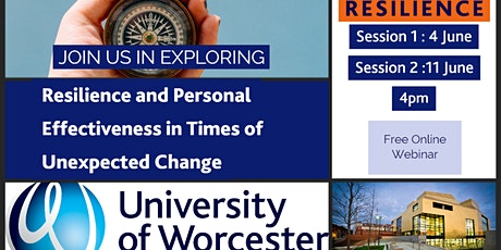 Resilience and Personal Effectiveness in Times of Unexpected Change  - Free tickets