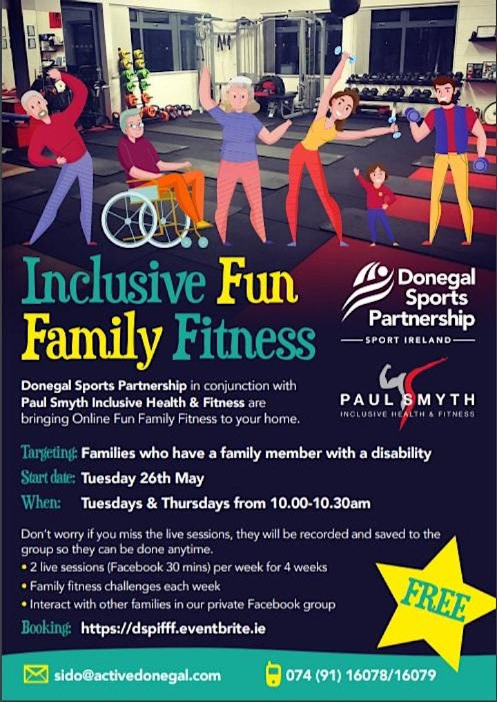 Inclusive Fun Family Fitness image