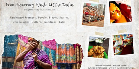 Free Discovery Walk: Little India (tips based) tickets