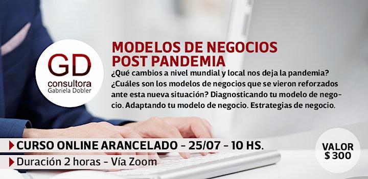 Imagen de Modelos de negocios post pandemia - Capacitación online