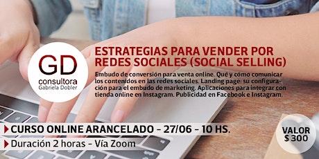 Estrategias para vender por redes sociales (social selling) tickets