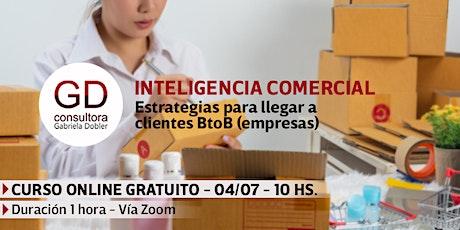Inteligencia comercial - Capacitación Online biglietti