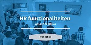 Business | HR Functionaliteiten