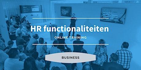 Business | HR Functionaliteiten tickets
