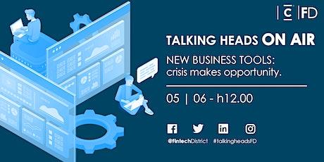 Talking heads On Air - New Business Tools biglietti